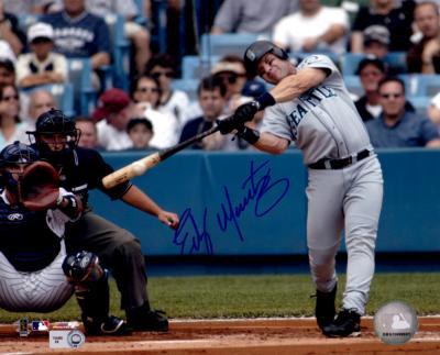 Edgar Martinez autographed Seattle Mariners 8x10 photo