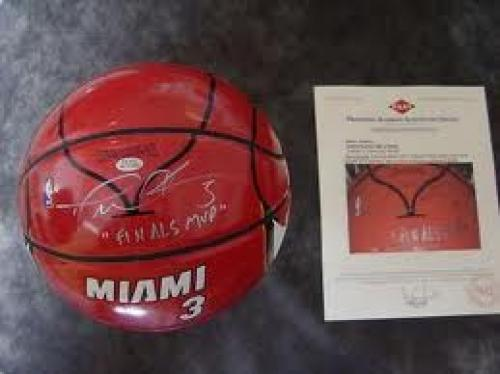 Memorabilia; Sports Memorabilia Dwyane Wade SIGNED Jersey Ball Basketball