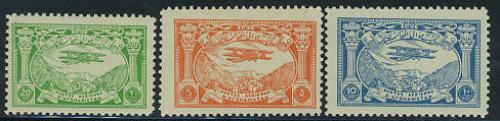 Airmail definitives 3v; Year: 1939