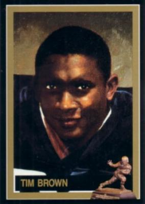 Tim Brown Notre Dame Heisman Trophy winner card