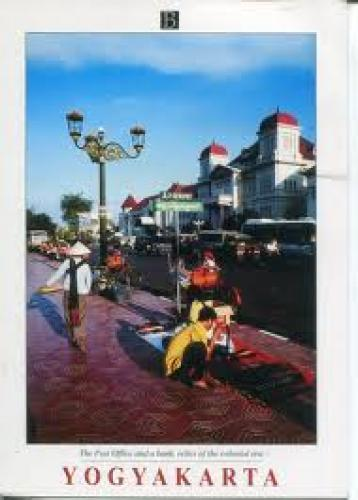 postcard Indonesia