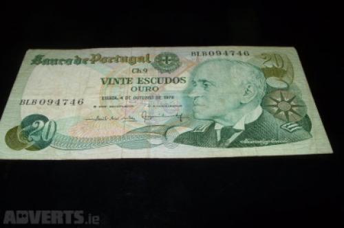 Portugal 20 escudos-1978