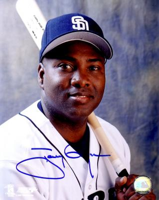 Tony Gwynn autographed San Diego Padres 8x10 photo