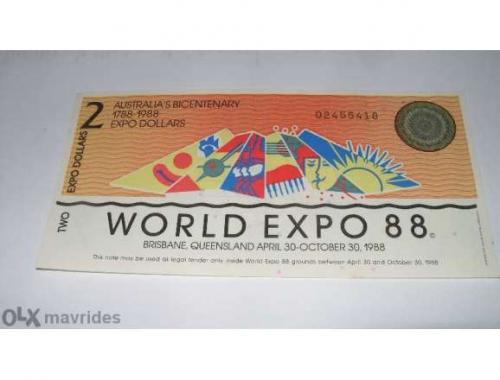 Australia $ 2 Dollar 1988 / UNC