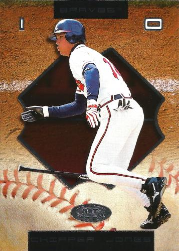 2002 Fleer Hot Prospects #67 ~ Chipper Jones