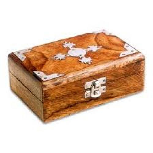 Antiques; Wooden Decorative Boxes