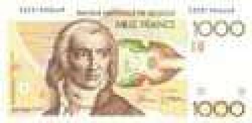 1000 Mille Francs; Older banknotes