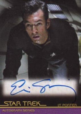 Eric Steinberg Star Trek certified autograph card