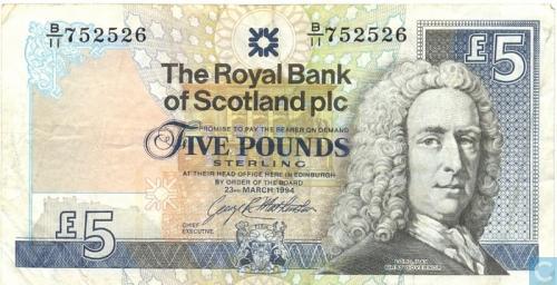 Scotland 5 Pounds