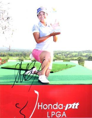 Ai Miyazato autographed 2010 Honda LPGA Thailand 8x10 photo