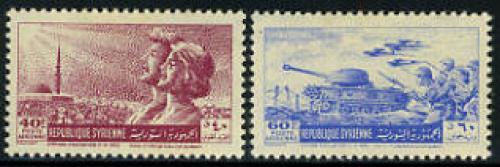 Return of troops 2v; Year: 1955