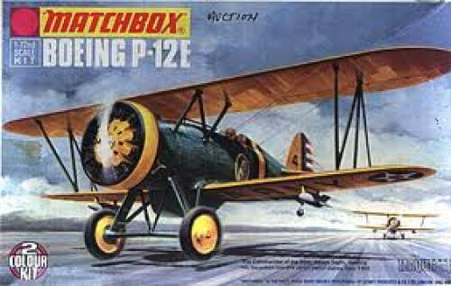 Aircraft; 1/72nd scale Boeing P-12E