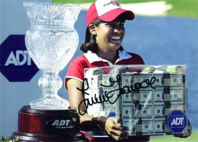 Julieta Granada (LPGA) autographed 5x7 photo