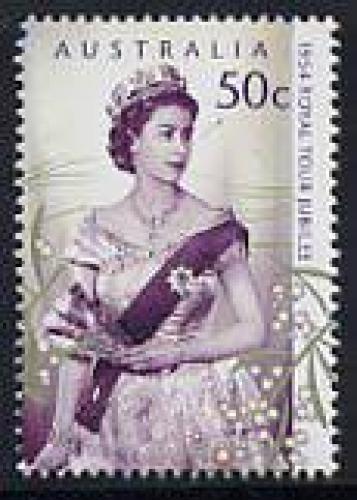 Royal tour 1954 1v