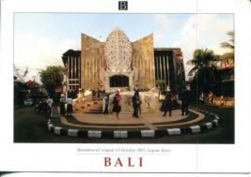 Postcard; Indonesia Postcard: Monument of tragedy 12-10-2002, Bali