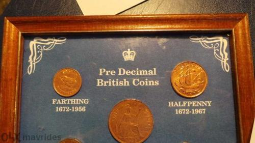 5 coins GREAT BRITAIN
