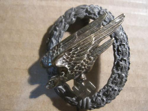 WW2 GERMAN PARATROOPER MEDAL