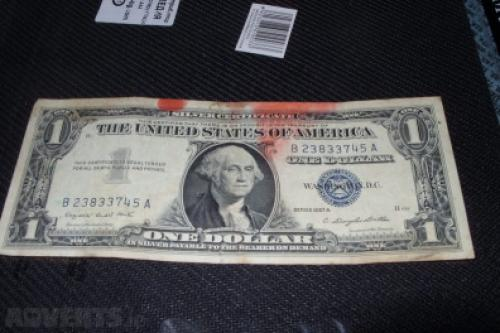 U.S. one dollar in 1957