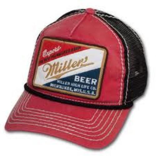 Breweriana; MILLER High Life Vintage Patch Cap