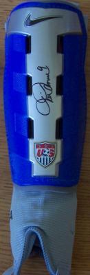 Mia Hamm autographed Nike U.S. Soccer shinguard