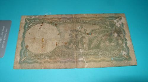 Ceylon 1 Rupee 1947