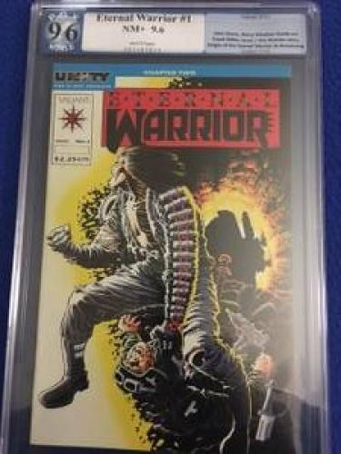Eternal Warrior #1  *PGX graded 9.6