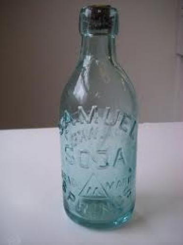 Bottles and Cans; Antique Saratoga Mineral Water Bottles