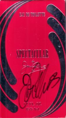 Joan Collins autographed Spectacular perfume box
