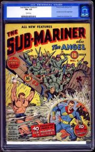 Comics; The SUB-Mariner Also Known Angel Comics