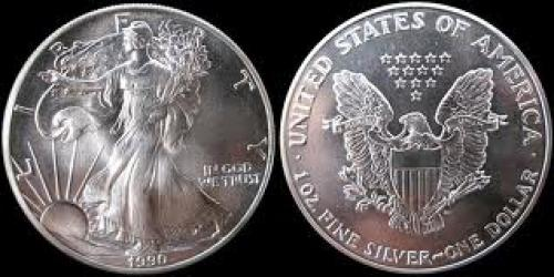 Coins; Finest silver coins ever minted and distributed in the U.S.A.