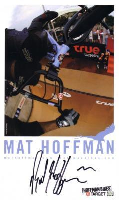 Mat Hoffman autographed 6x10 Target promotional photo