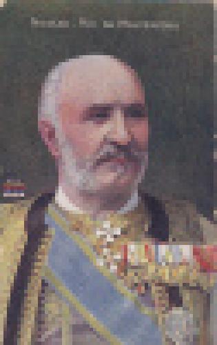 Old postcard : Nicolas The king of Montenegro