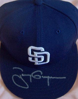 Tony Gwynn autographed San Diego Padres game model cap