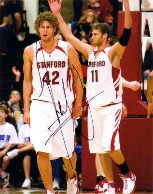Robin Lopez autographed Stanford 8x10 photo