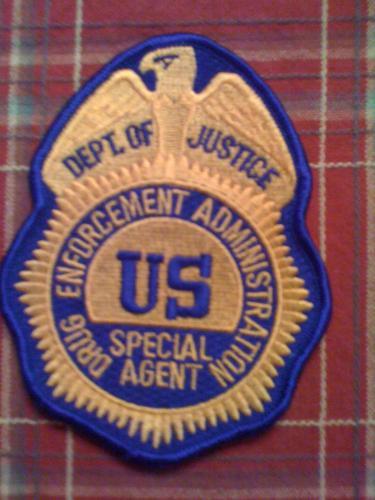 Rare U.S. DEA Special Agent Police patch