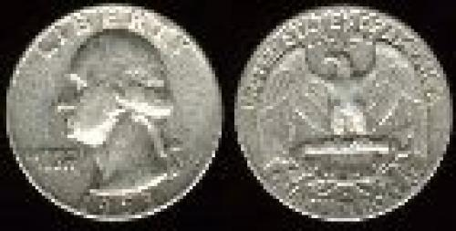 25 cents; Year: 1932-1964;