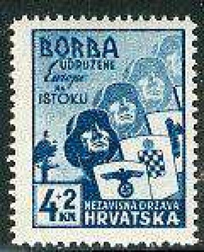 Anti bolschewistic exposition 1v; Year: 1941