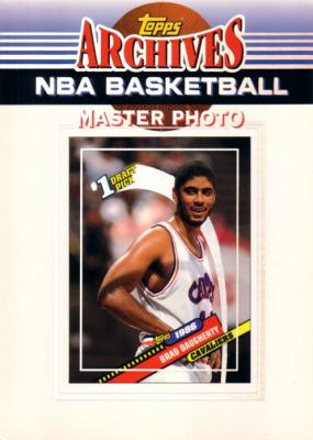 Brad Daugherty 1992-93 Topps Archives 5x7 Master Photo