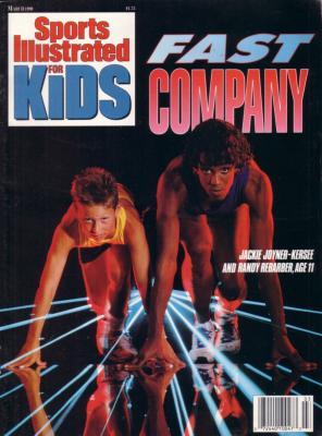 Jackie Joyner-Kersee 1990 Sports Illustrated for Kids magazine