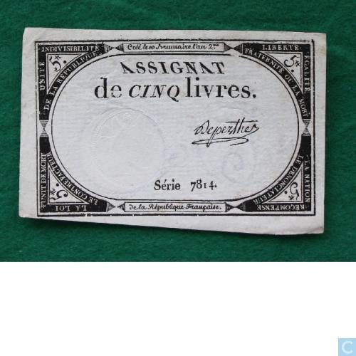 France 5 livres