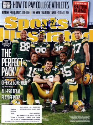 James Jones autographed Green Bay Packers 2011 Sports Illustrated