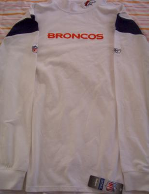 Denver Broncos Reebok Coaches long sleeve On Field shirt XXL NEW WITH TAGS