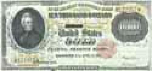 10000 Dollars;  Older and limited circulation banknotes