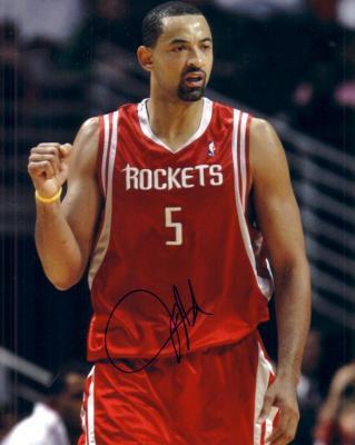 Juwan Howard autographed Houston Rockets 8x10 photo