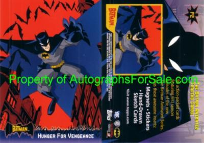 Batman Animated Series 2005 Topps promo card P2