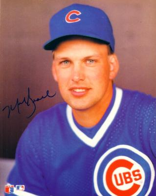 Mark Grace autographed 8x10 Chicago Cubs photo