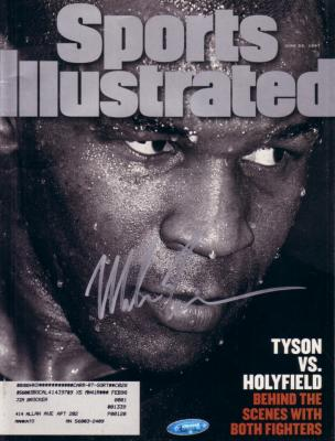 Mike Tyson autographed 1997 Sports Illustrated