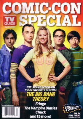 Big Bang Theory 2011 Comic-Con TV Guide magazine