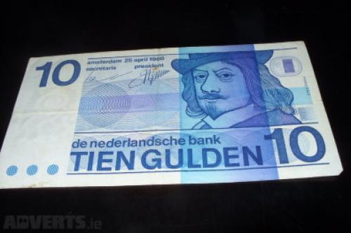 10 guilder Netherlands 1968