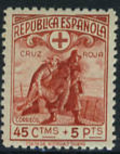 Red Cross 1v; Year Issue: 1938; Spain Stamps